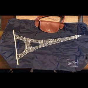 Longchamp Le Pilage Eiffel Tower Bag